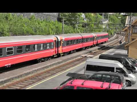 Trainspotting på Bergensbanen 02-06-2012