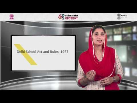 State acts and rules related to educational administration in India  A critical apprais