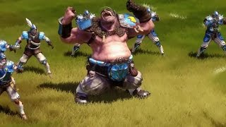 Blood Bowl 2 - Humans Basic Moves Gameplay | Official American Football Game (2015)