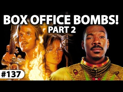 7 Of The Biggest BOX OFFICE BOMBS Of All Time! #JPMN