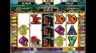 Aztec Treasure - Big Win!!