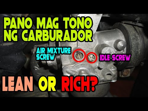 Pano mag tono ng carburador | Honda XRM125