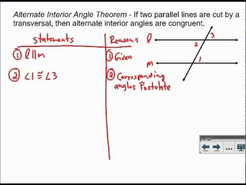 Alternate interior angles buzzpls com for Alternate exterior angles conjecture