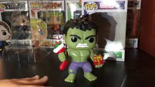 Christmas Hulk Funko pop review