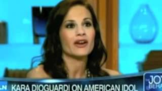 Kara DioGuardi Live on Joy Behar