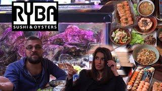 Обзор заведения RYBA sushi & oysters Москва. Конкуренты Курочки на Усачевском Рынке. #PRostoEda