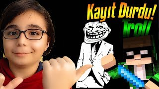 KAYIT DURDU TROLL !!! | MİNECRAFT EGG WARS BKT