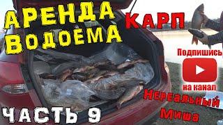 АрендаВодоема Озера ч 9 Клуб Рыбака Рыбалка Украина Одесса Николаев Запустил карпа в озеро 2 кг