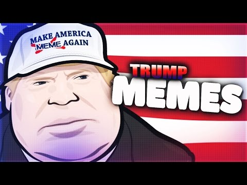 REACTING TO PRESIDENT DONALD TRUMP MEMES!