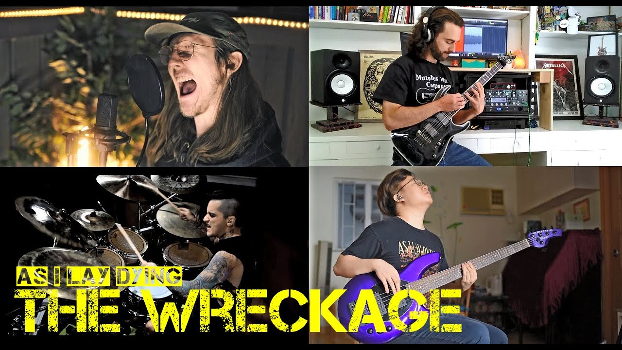 As I Lay Dying | The Wreckage | Full Band Cover
