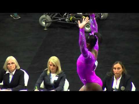 Simone Biles Amazing Beam Performance 2016 Pacific Rim Championship