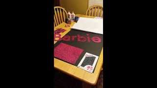 How to make a Life Size Barbie Box - Step by Step - Barbie Box