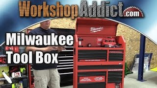"Video Milwaukee 46"" Steel Storage Chest and Cabinet -- Awesome tool box download MP3, 3GP, MP4, WEBM, AVI, FLV Juni 2018"