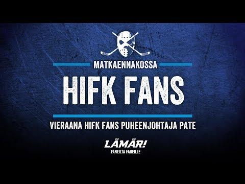 Matkaennakko: Lämäri Mukana HIFK Fansin 30v Megamatkalla.