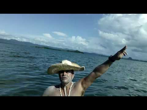 Kayaking from Port of Lucena/Delahican to Pagbilao Quezon Philippines (GE HD DV1)