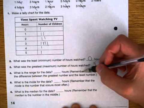 Everyday Math Home Link 1 5