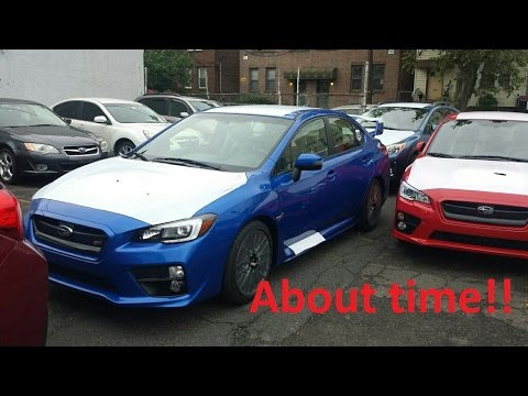 Delivered 2017 Sti Base Quick Differences