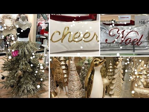 HOME GOODS SHOP WITH ME PART 4 DECOR! CHRISTMAS DECOR!!🎅🎄🎅🎄🎅🎄🎅🎄