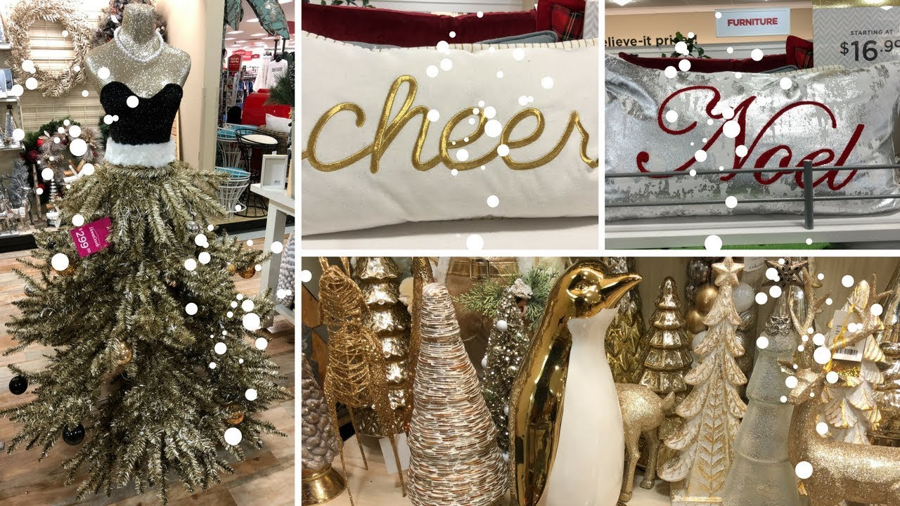 home goods shop with me part 4 decor christmas decor