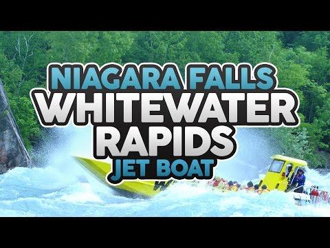 Whirlpool Jet Boat Niagara Falls, Canada - Whitewater Rapids