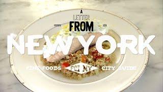 ポーチドサーモンとキヌアのサラダのつくり方|A LETTER FROM NEW YORK
