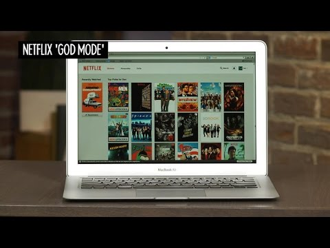 CNET How To  Enable 'God Mode' for better Netflix browsing