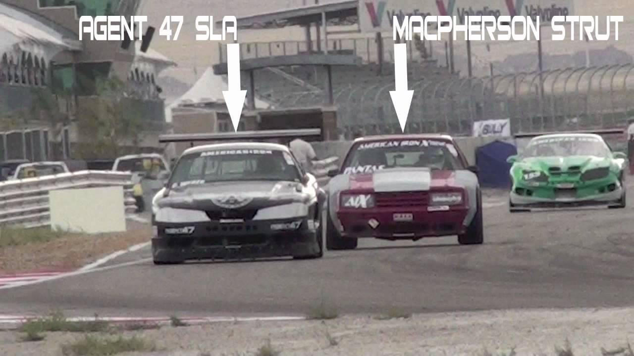 SLA Suspension vs MacPherson Strut