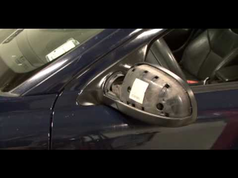 How To Change A Mirror Cover On A Volvo V70 Youtube