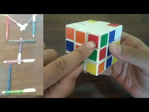 How to solve Rubik's cube (part 2 - top layer)
