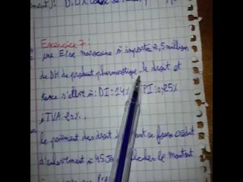 Method De Calculer Le Droit Douane Et Ddp Ttc Darija Tsc Ofppt