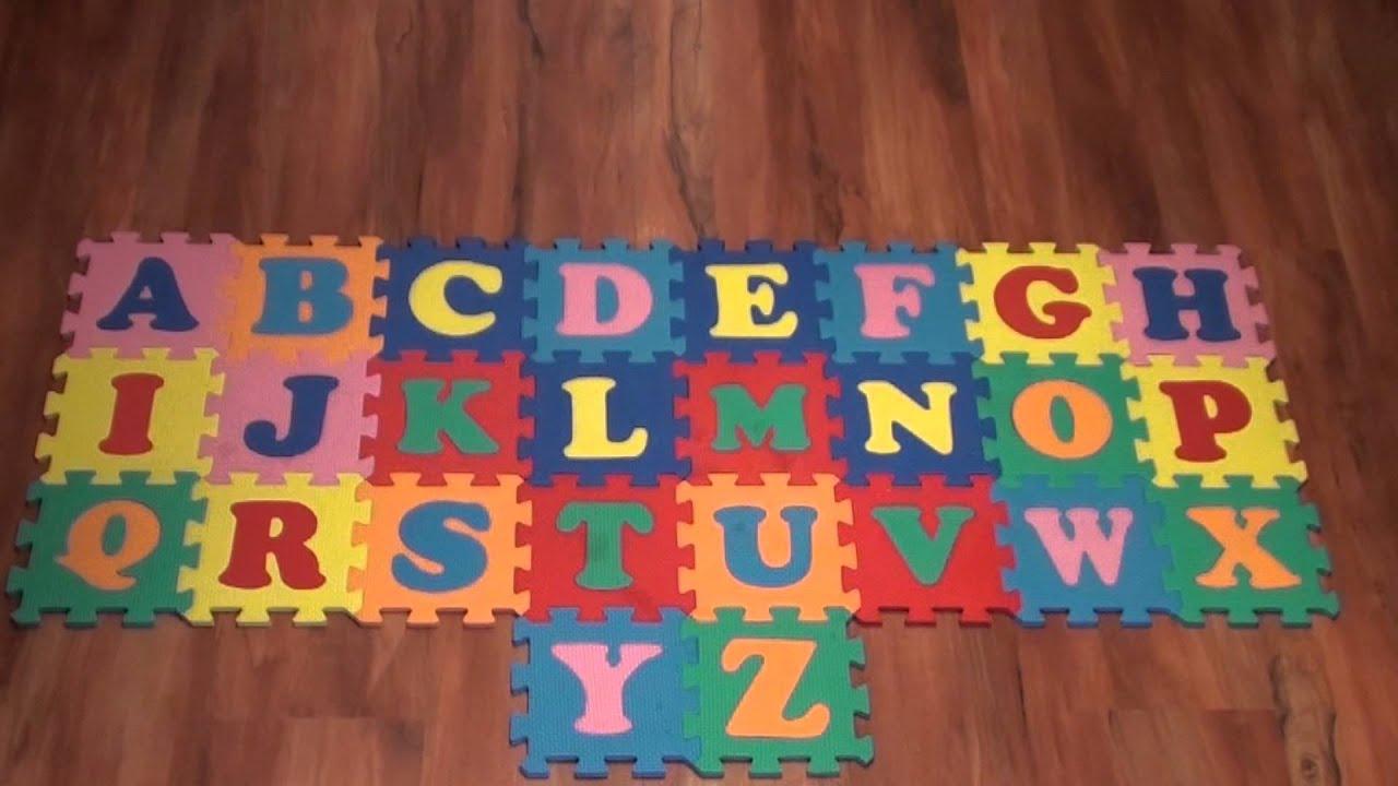 prezentacja w formie animacji foam puzzle letters youtube