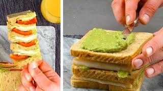 5片吐司疊起來沾上玉米片... 實在太脆了!