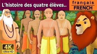 L'histoire des quatre élèves - histoire pour s'endormir - French Fairy Tales