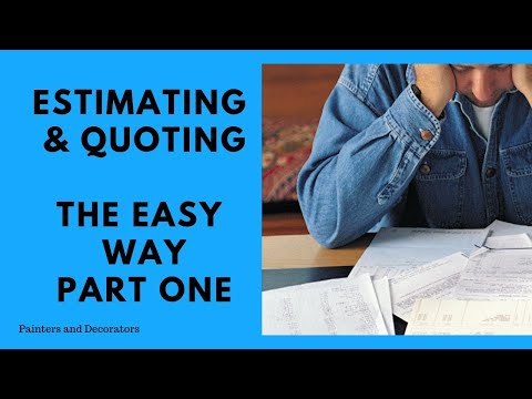 Download Pricing Quoting Estimating Painting And Decorating Jobs