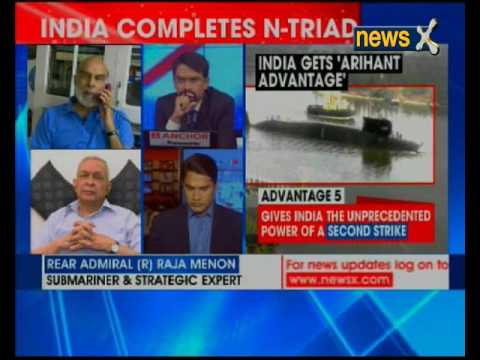 NewsX Exclusive: India completes 'nuclear triad' with INS Arihant