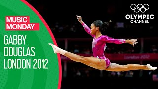 Gabby Douglas' Gold Medal Floor Routine Performance at London 2012   Music Monday
