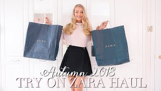 AUTUMN ZARA HAUL ~ Autumn Fashion Edit ~ Freddy My Love