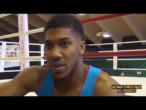 "ANTHONY JOSHUA: ""DEONTAY WILDER- STOP FIGHTING EASY PICKINGS""!!!"