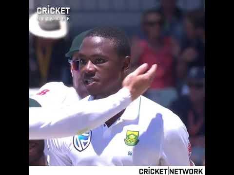 Rabada Bowled usman khwaja , class bowling