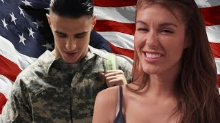Awkward Things People Say To Soldiers