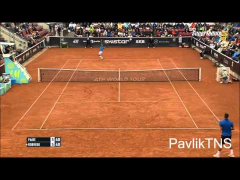 Tommy Robredo vs Benoit Paire Highlights HD Swedish Open 2015 Final
