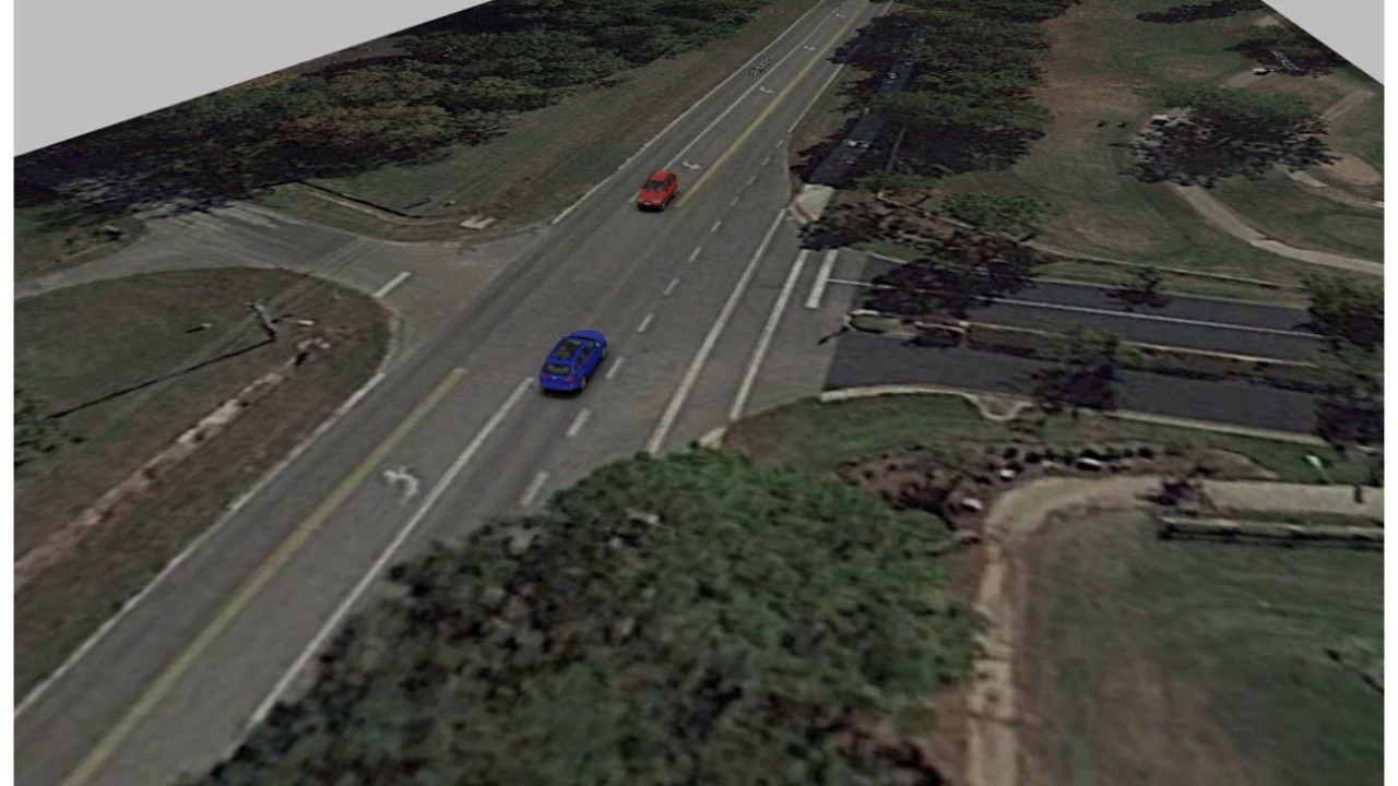 Virtual CRASH | Traffic Simulation - YouTube