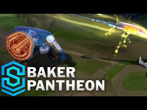 Baker Pantheon Skin Spotlight - Pre-Release - League of Legends