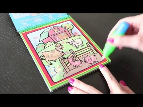 Melissa & Doug Water Wow! Coloring Books - YouTube