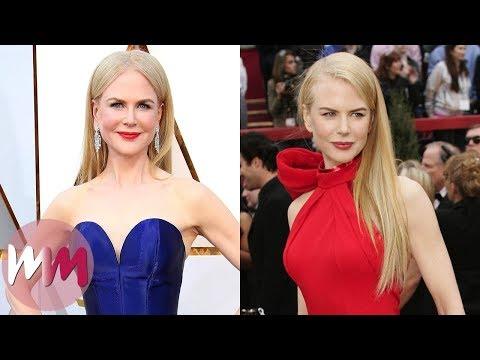 Top 10 Gorgeous Nicole Kidman Red Carpet Looks