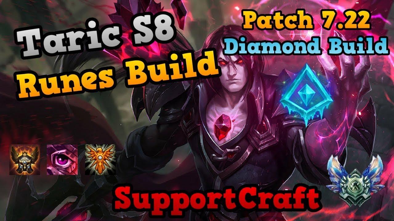 Taric Build Guide 724b Taric Support Build Glacial Beatdown
