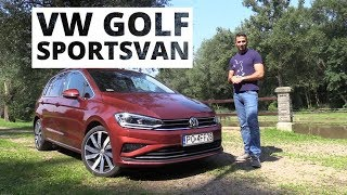 Golf Story: odc.2: VW Golf Sportsvan