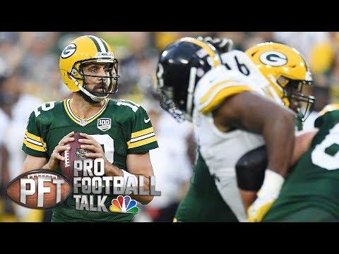 Aaron Rodgers, Russell Wilson, Tom Brady top Simms' QB rankings I Pro Football Talk I NBC Sports
