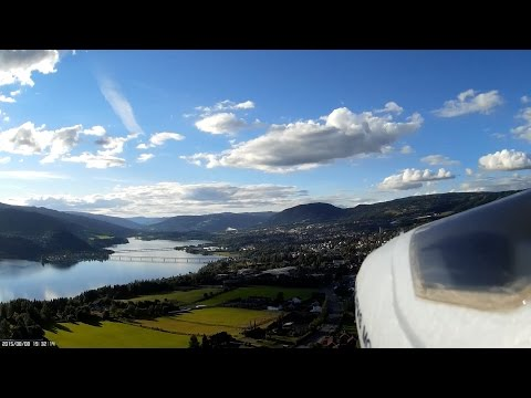A nice day for some flying in Lillehammer