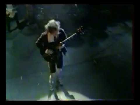 AC/DC Concert Paris 1980 Bon Scott